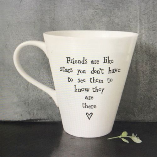 Friends are like stars - gift mug